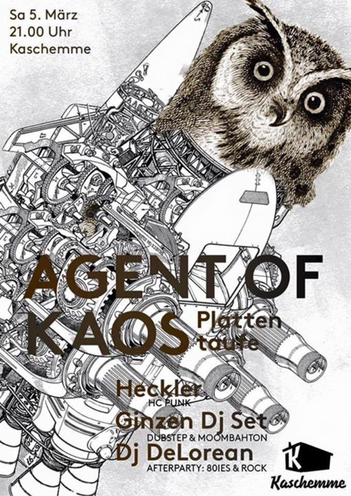 Agent of Kaos Tour Dates