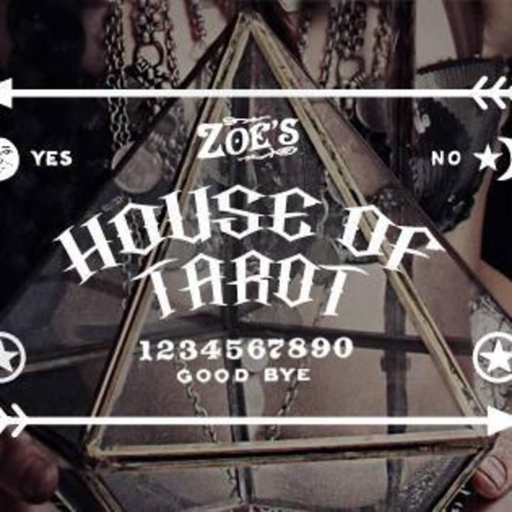 Zoe Jakes House of Tarot Tour Dates