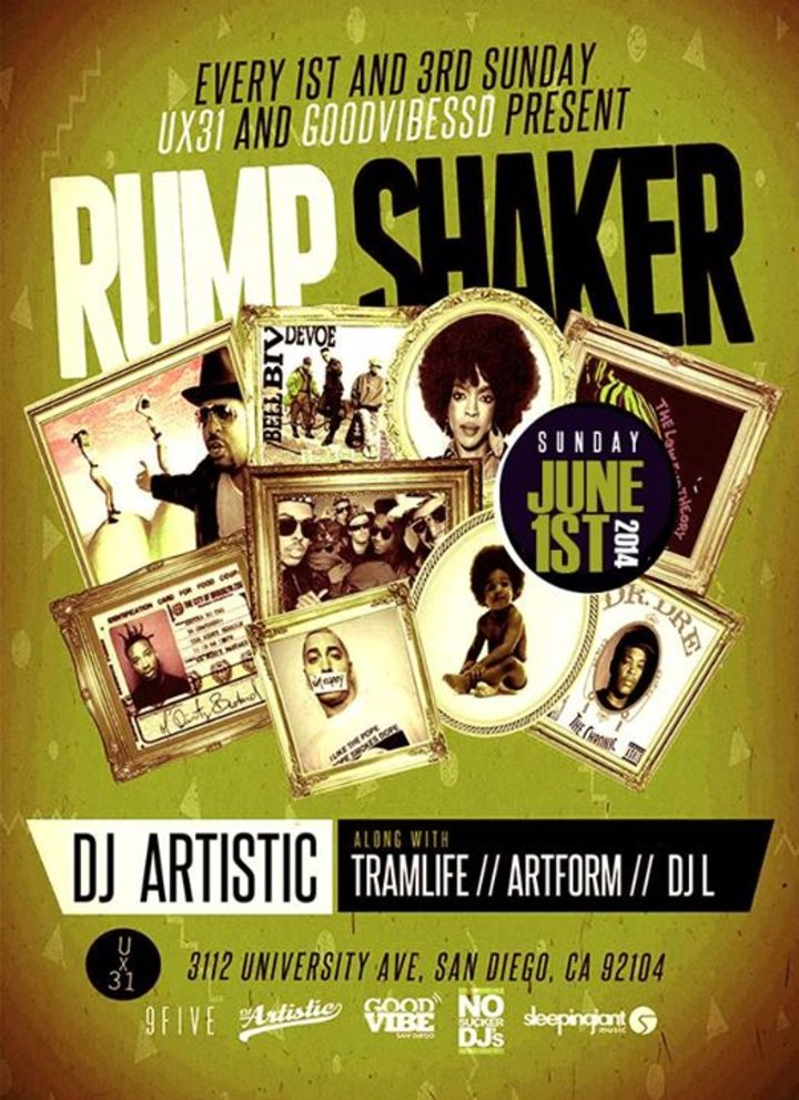Rump Shaker Tour Dates