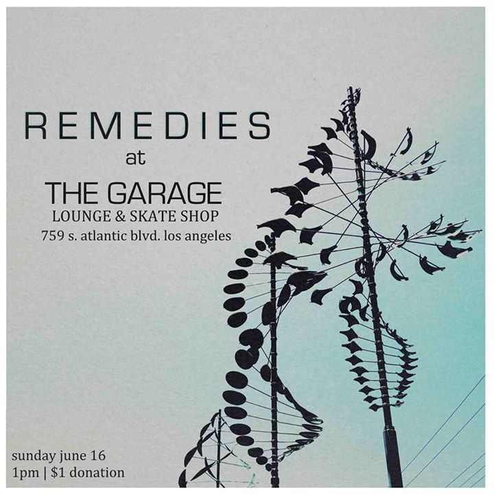 REMEDIES Tour Dates