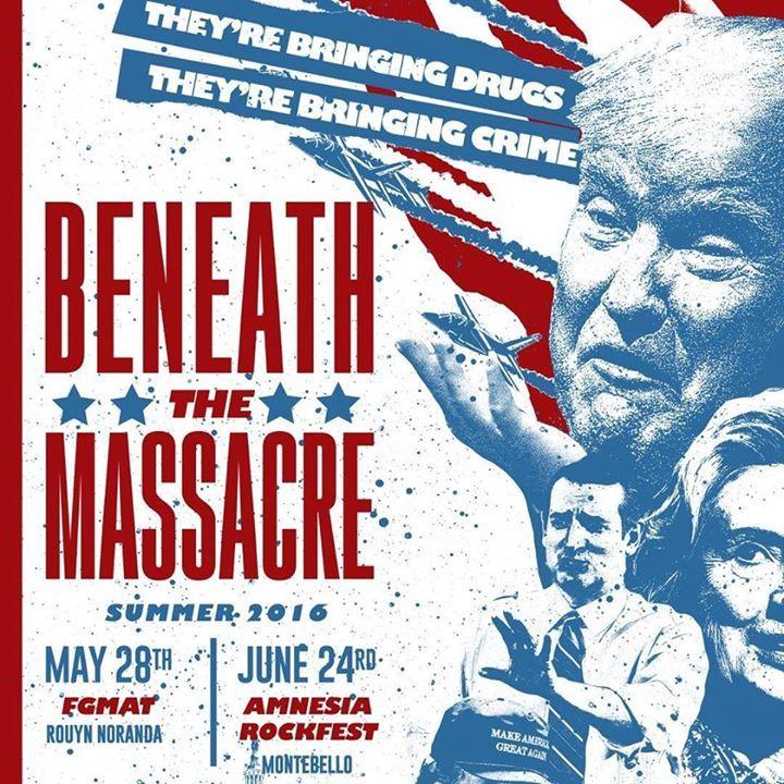 Beneath the Massacre Tour Dates