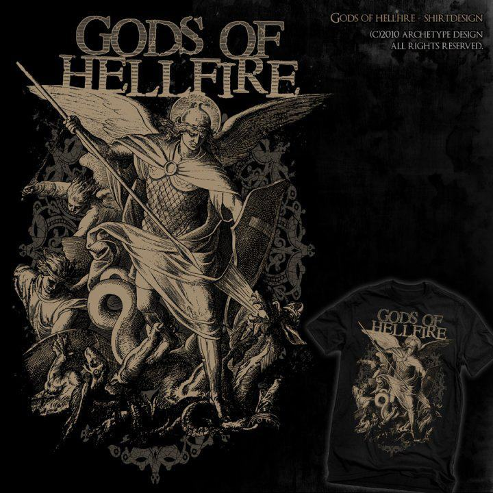 GODS OF HELLFIRE Tour Dates
