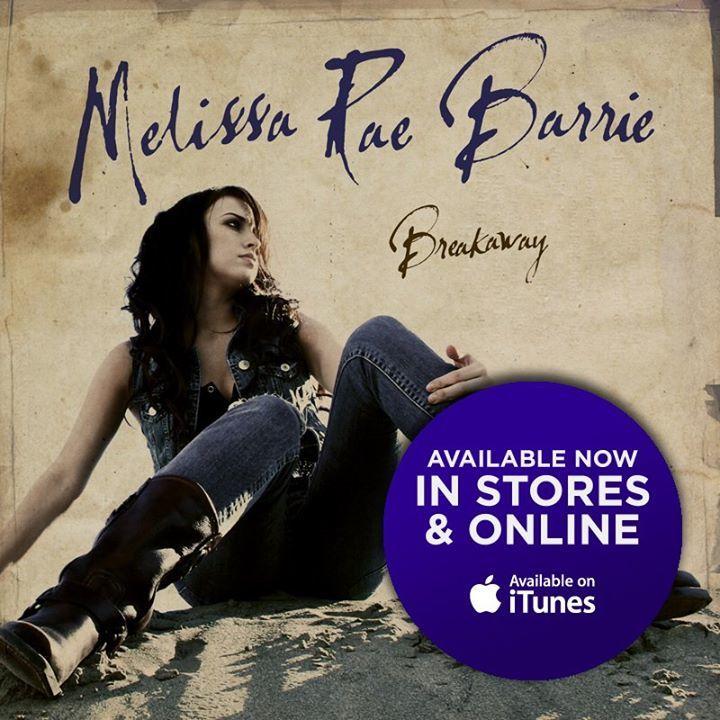 Melissa Rae Barrie Tour Dates