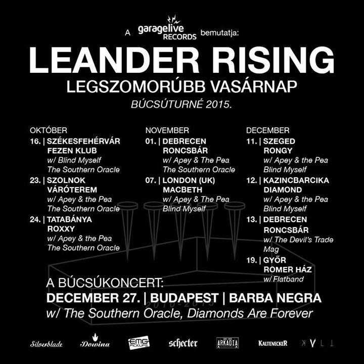 Leander Tour Dates
