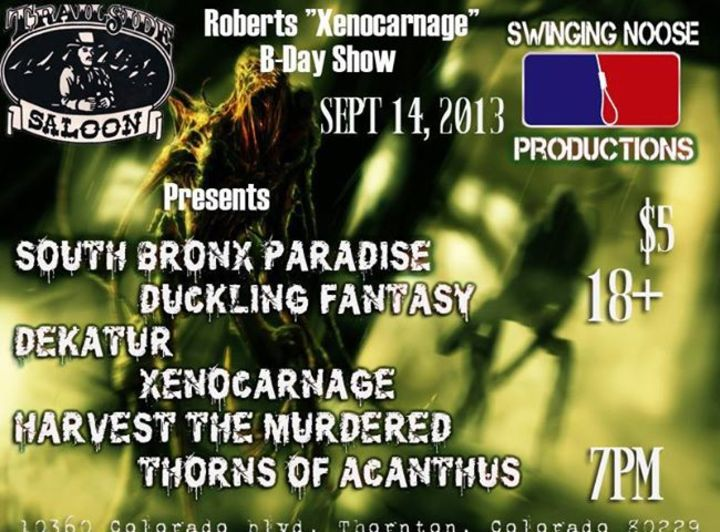 South Bronx Paradise Tour Dates