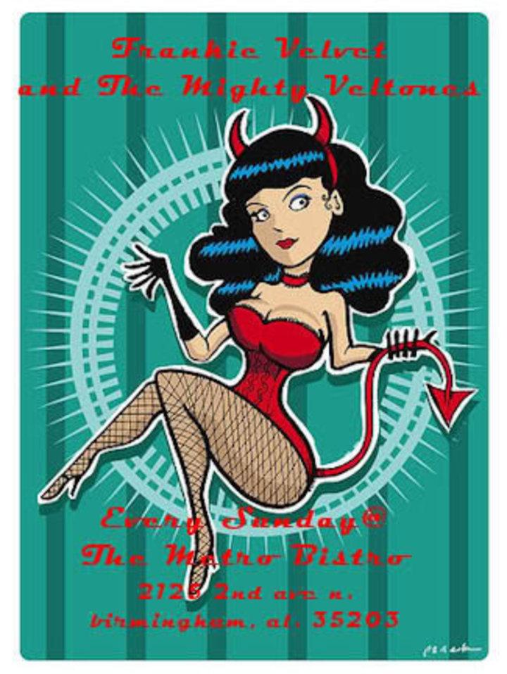Frankie Velvet and The Mighty Veltones Tour Dates