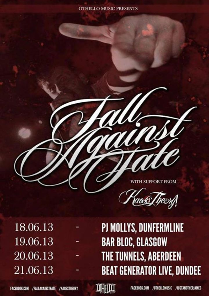 Fall Against Fate Tour Dates