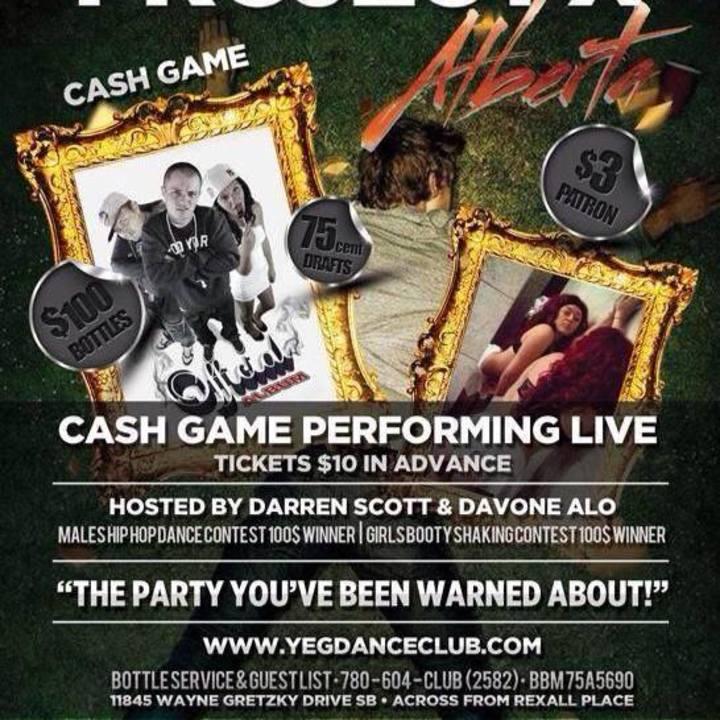 CASH GAME Tour Dates