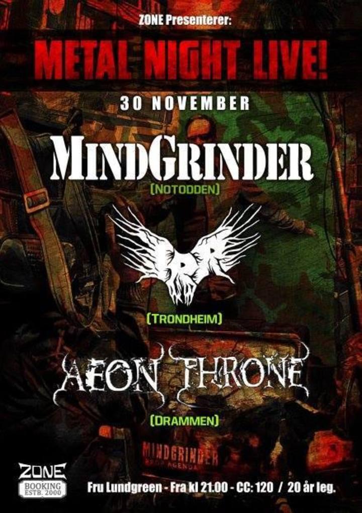 Aeon Throne Tour Dates