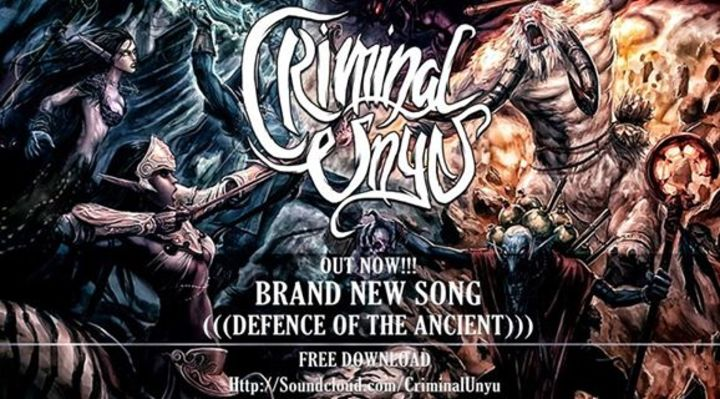CRIMINAL UNYU ( METALCORE ) Tour Dates