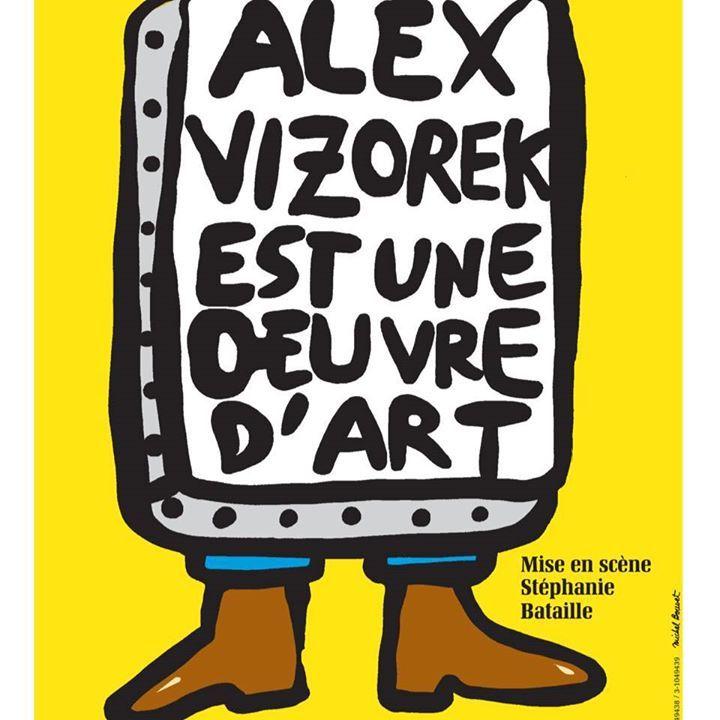 Alex Vizorek @ Théâtre de Corbeil-Essonnes - Corbeil-Essonnes, France