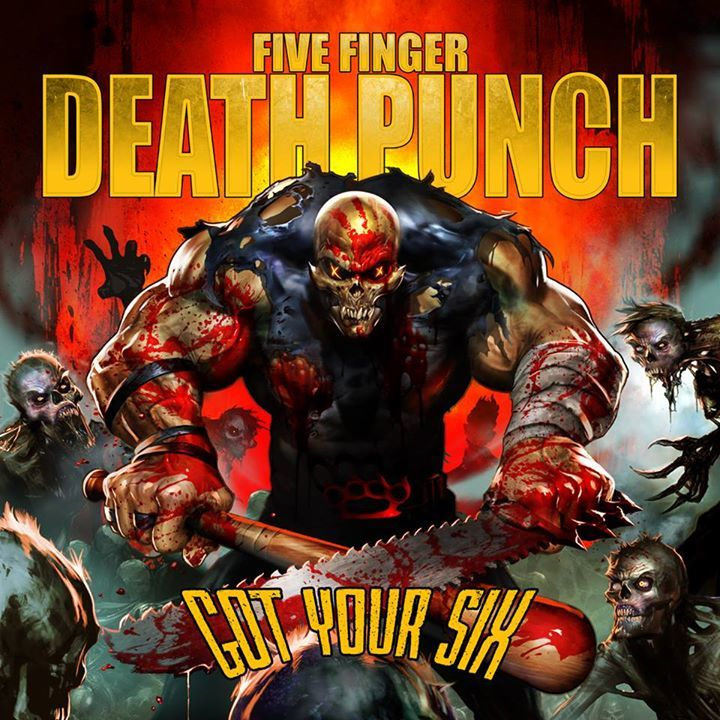 Five Finger Death Punch @ Lotto  - Antwerp, Belgium