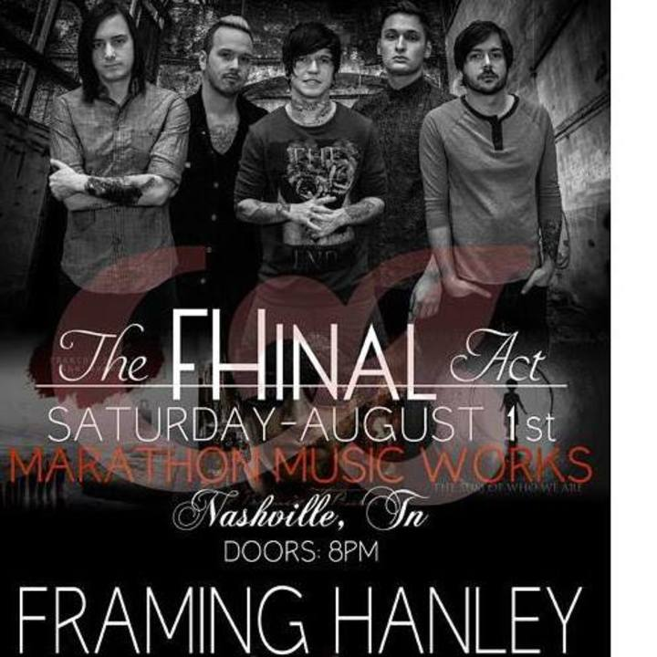 Framing Hanley Tour Dates