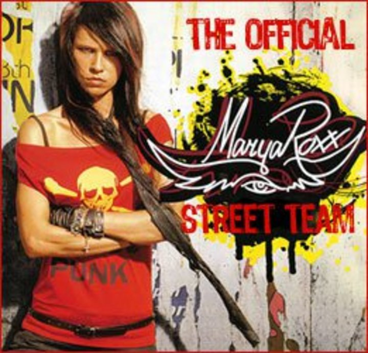 Marya Roxx Official Street Team Tour Dates