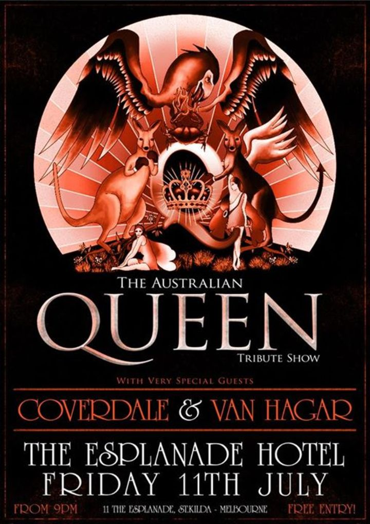 THE AUSTRALIAN QUEEN TRIBUTE SHOW Tour Dates