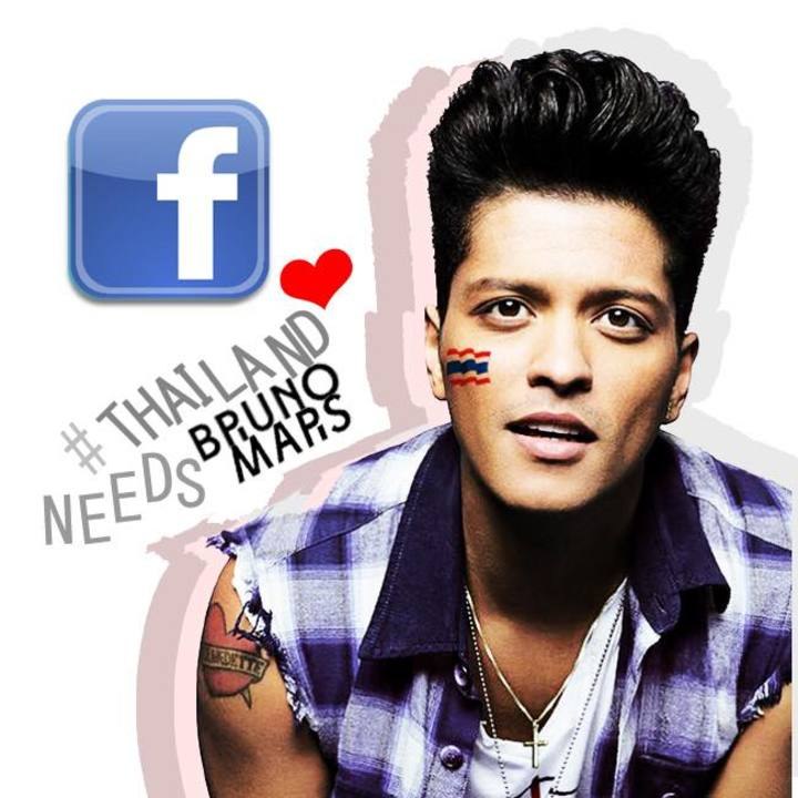 Thailand needs Bruno Mars Tour Dates