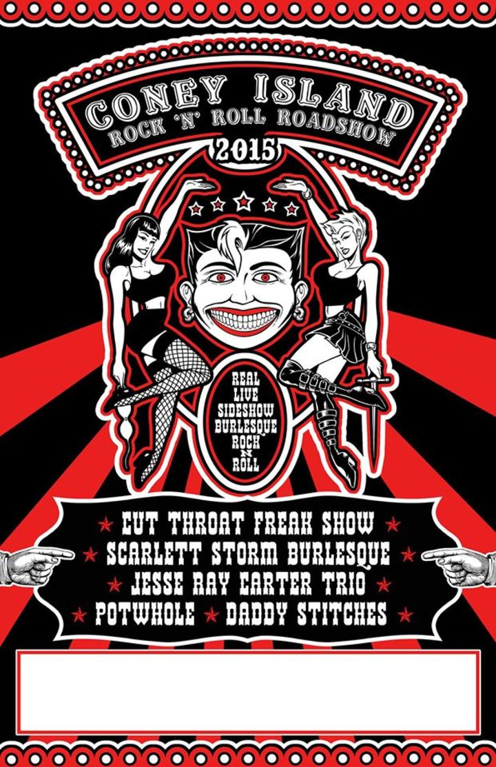 The Coney Island Rock n' Roll Roadshow Tour Dates
