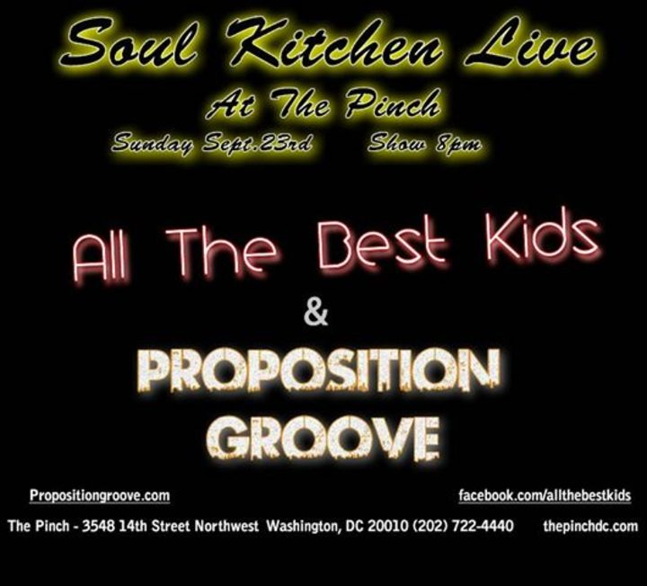 Proposition:Groove Tour Dates