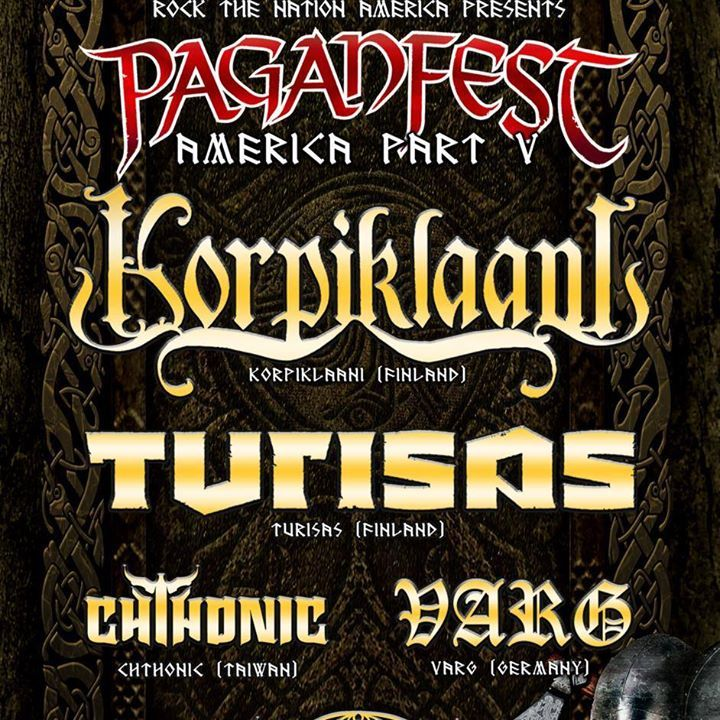 Paganfest America Tour Dates