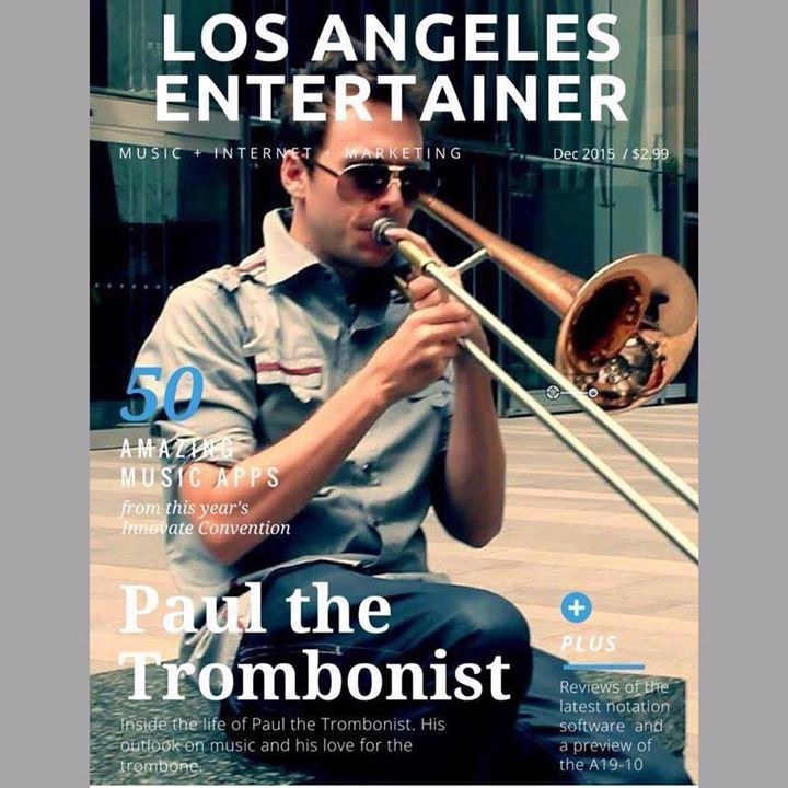 Paul The Trombonist Tour Dates