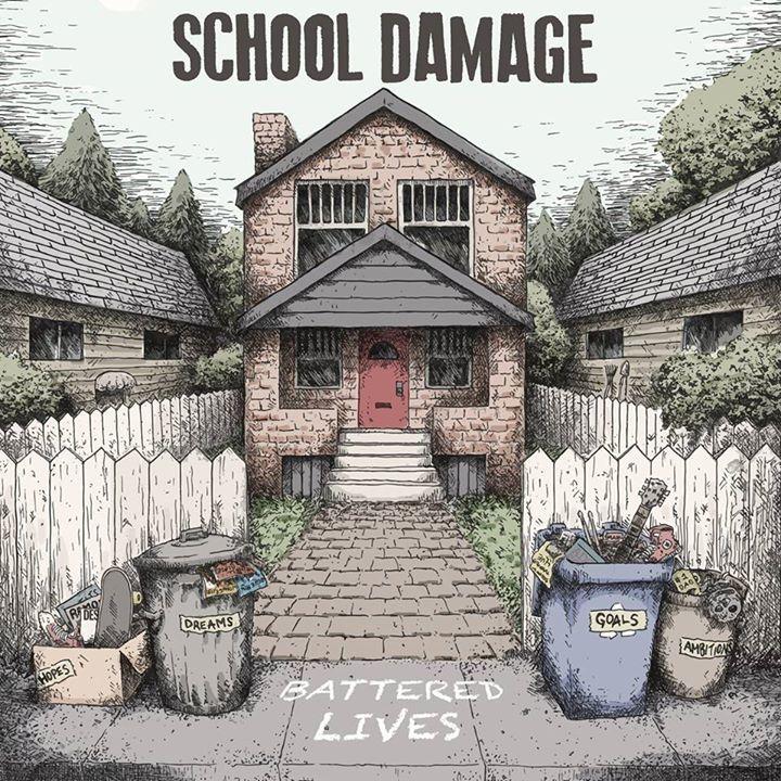 School Damage Tour Dates