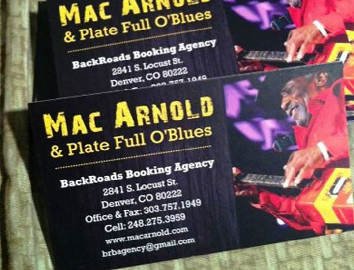 BackRoads Booking Agency Tour Dates