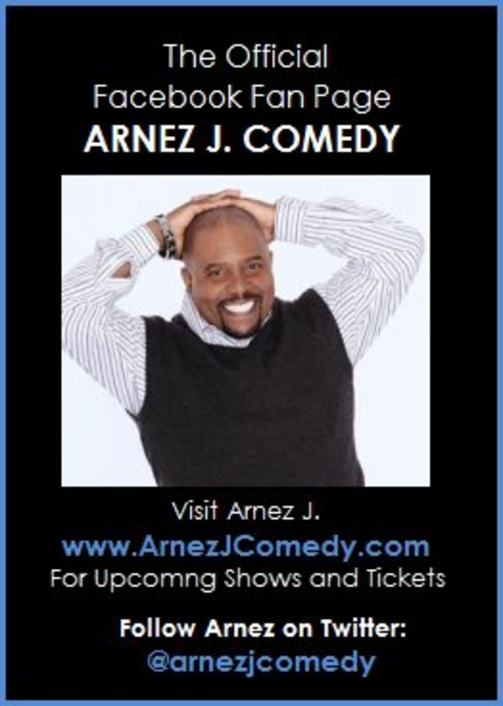 Arnez J Comedy Tour Dates