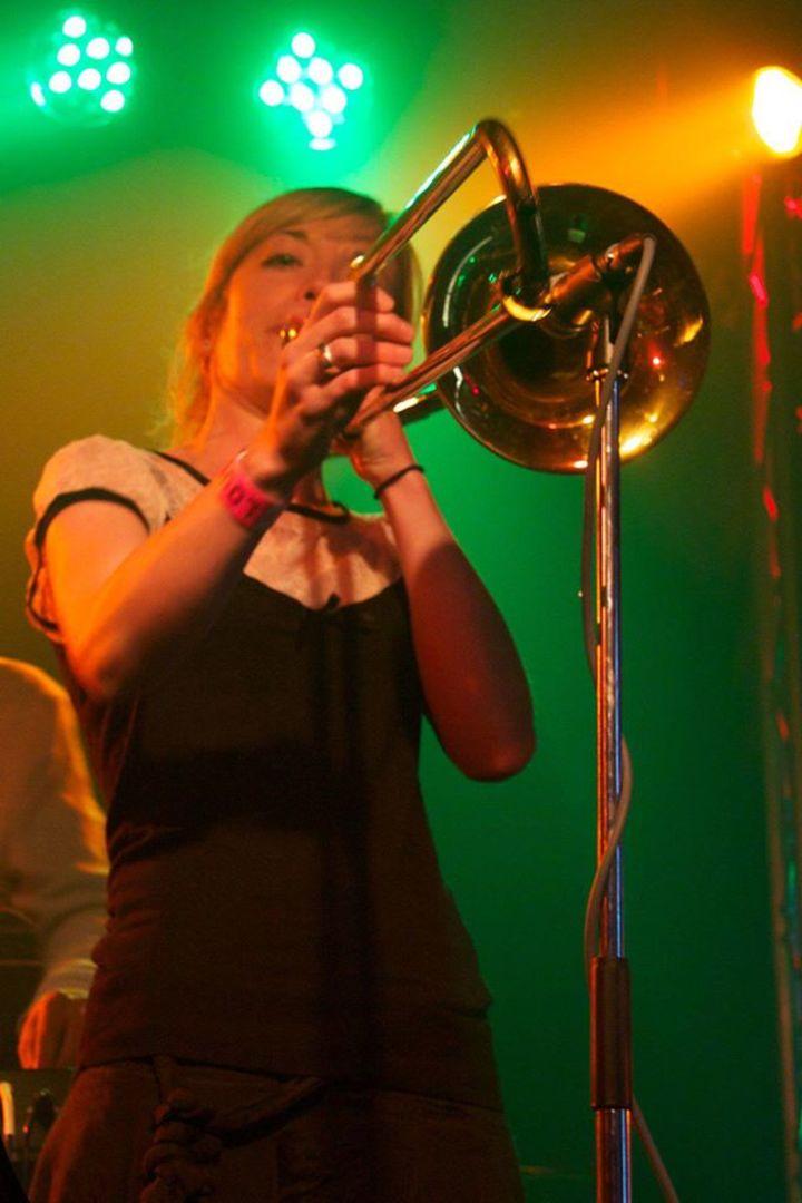 Charlotte 'dirty' White trombone Tour Dates
