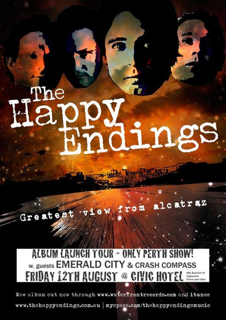 the Happy Endings Tour Dates
