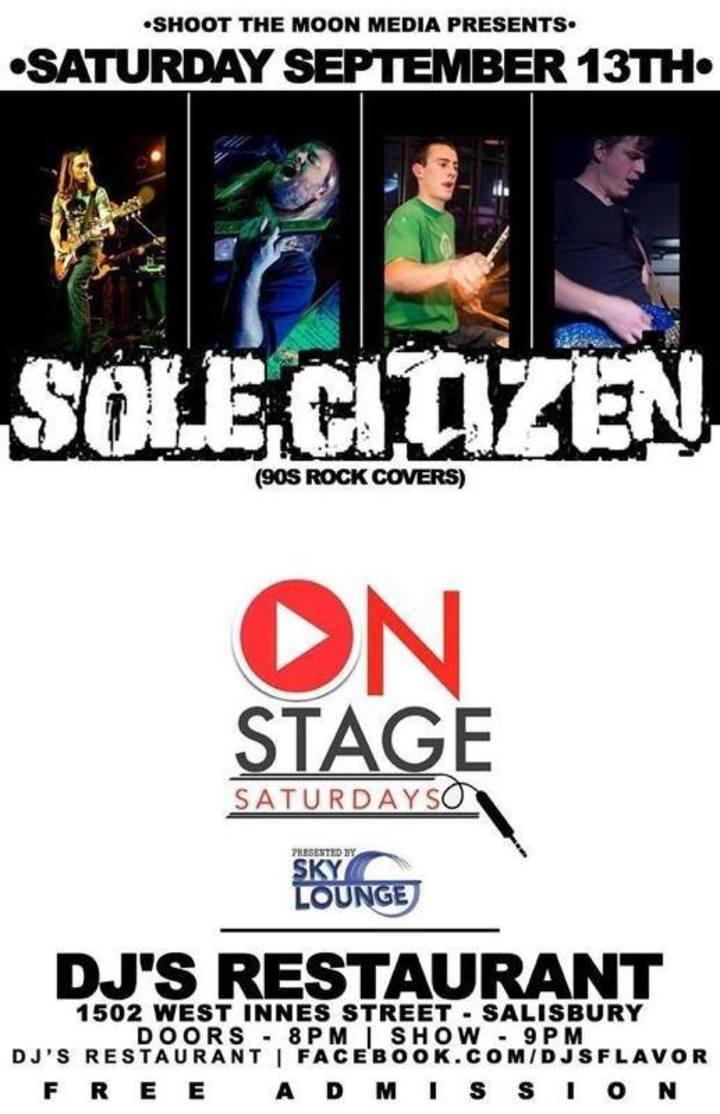 Sole Citizen Tour Dates