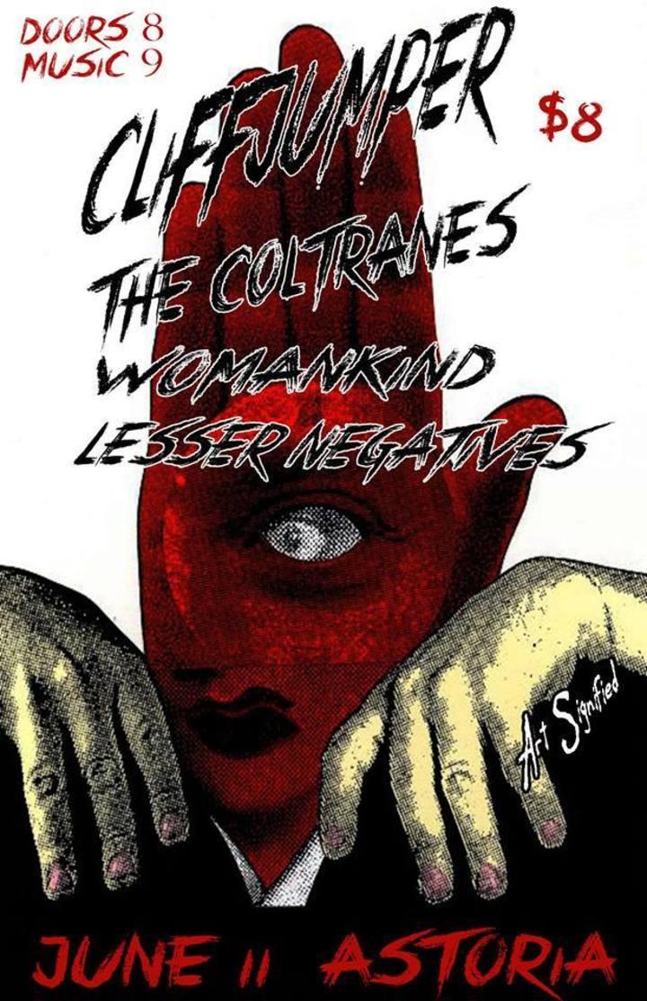 Cliffjumper Tour Dates