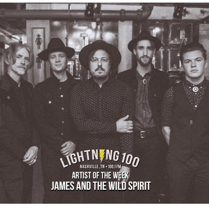 James & The Wild Spirit Tour Dates