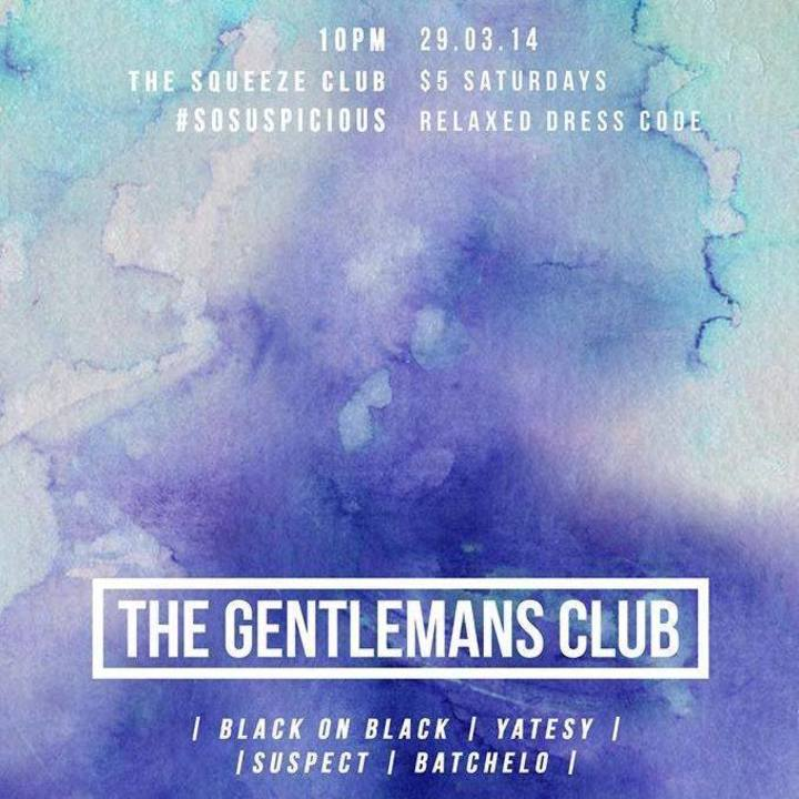 The Gentlemans Club Tour Dates