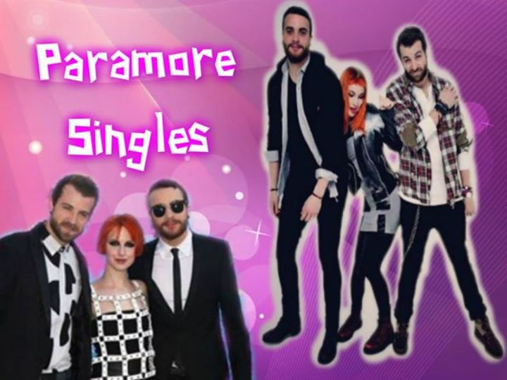 Paramore singles Tour Dates