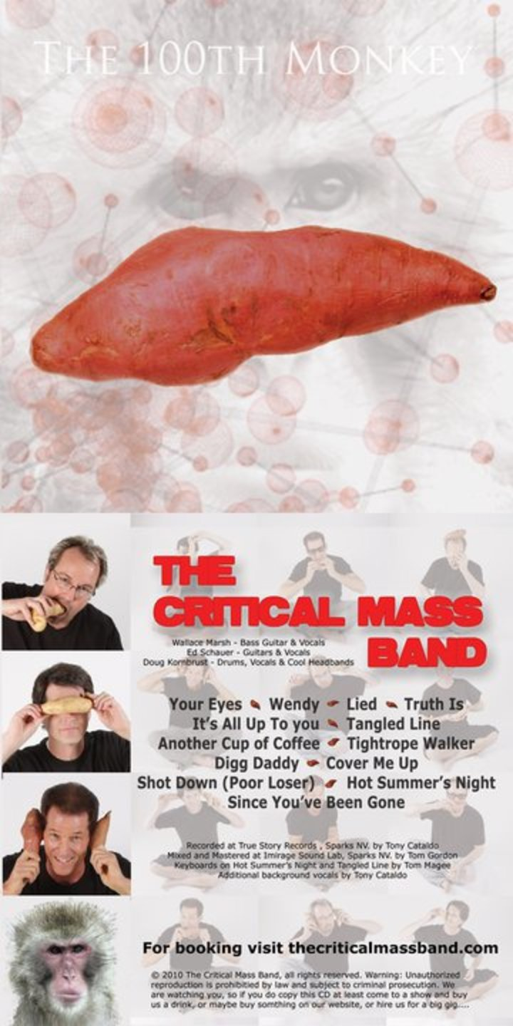 The Critical Mass Band Tour Dates