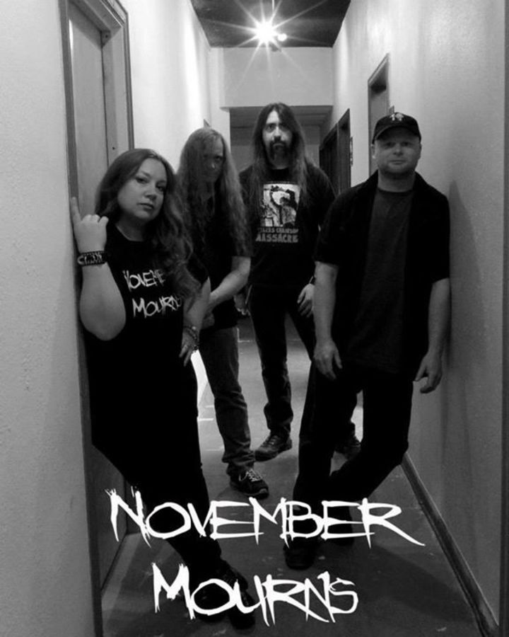 November Mourns Tour Dates