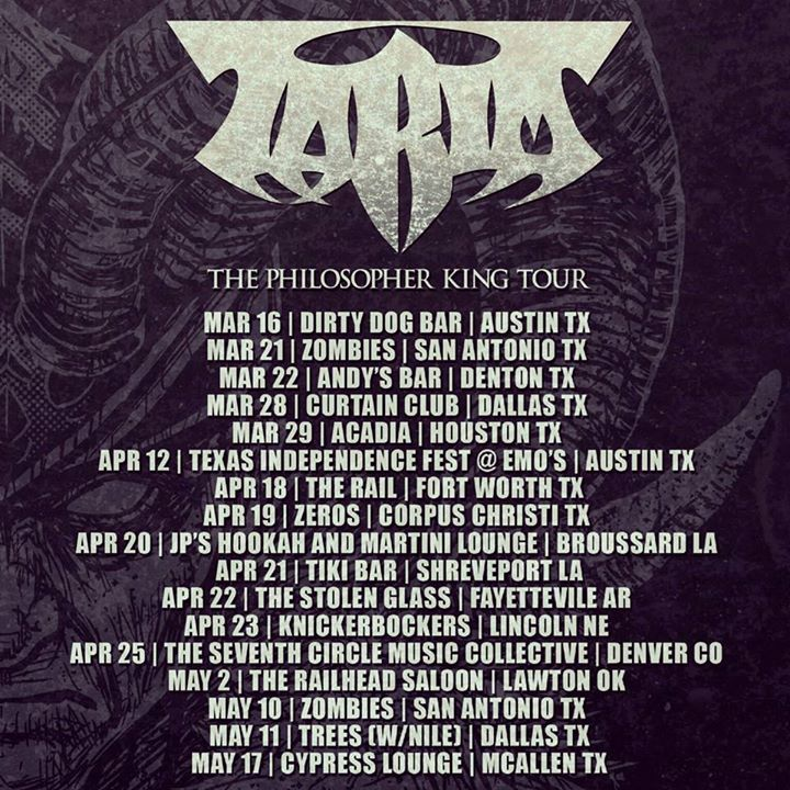 Tarim Tour Dates