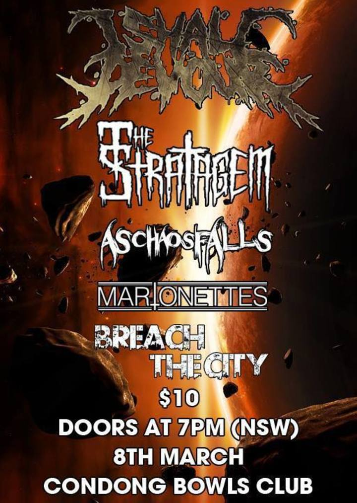 Breach The City Tour Dates
