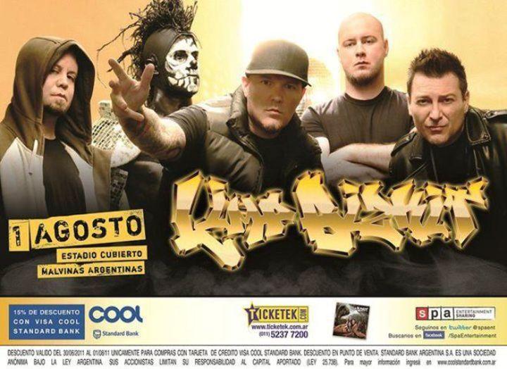 Yo fui a ver a Limp Bizkit en argentina Tour Dates