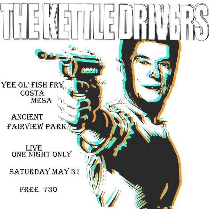 The Kettle Drivers Tour Dates