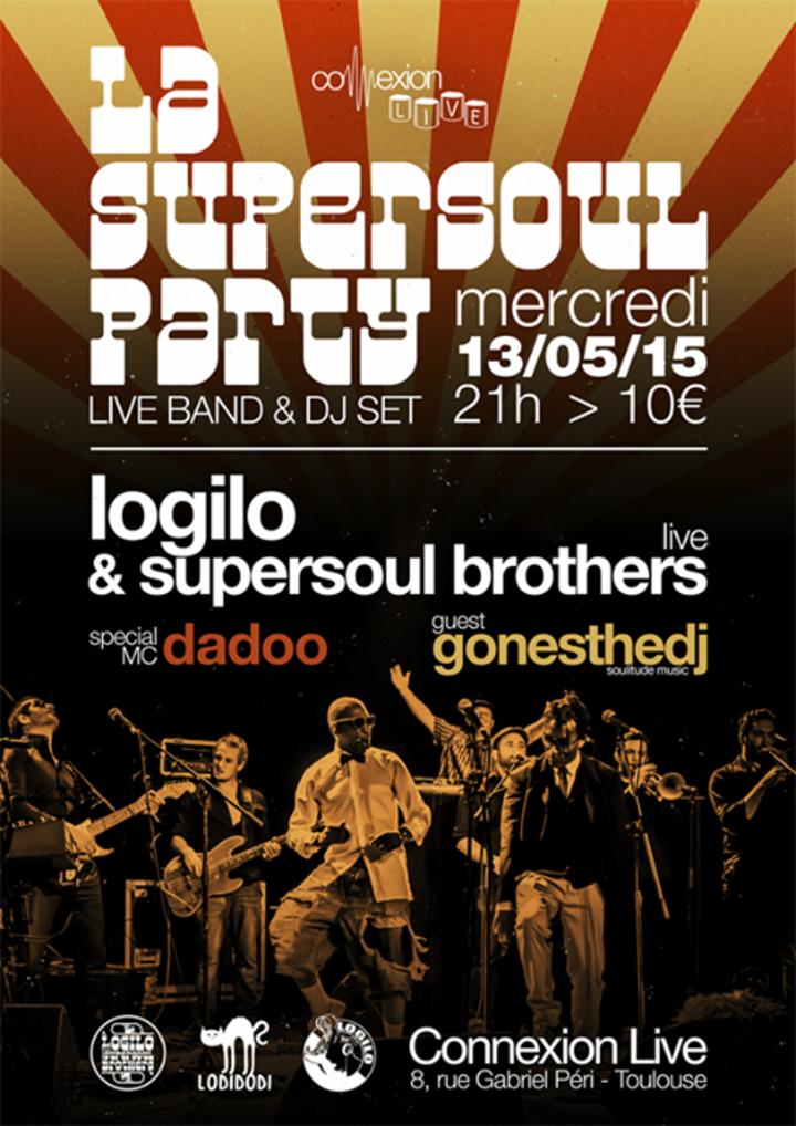 Logilo & The Supersoul Brothers Tour Dates