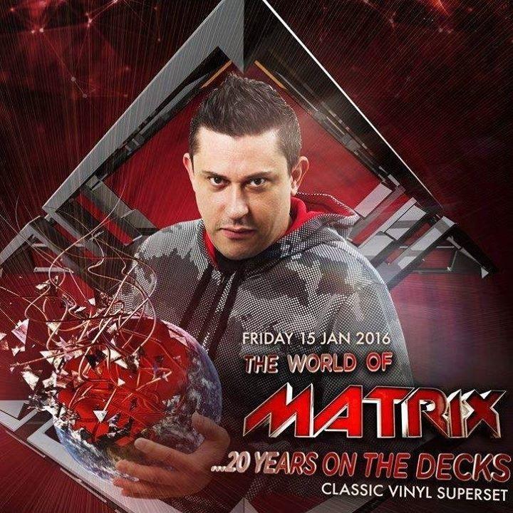DJ Matrix Tour Dates