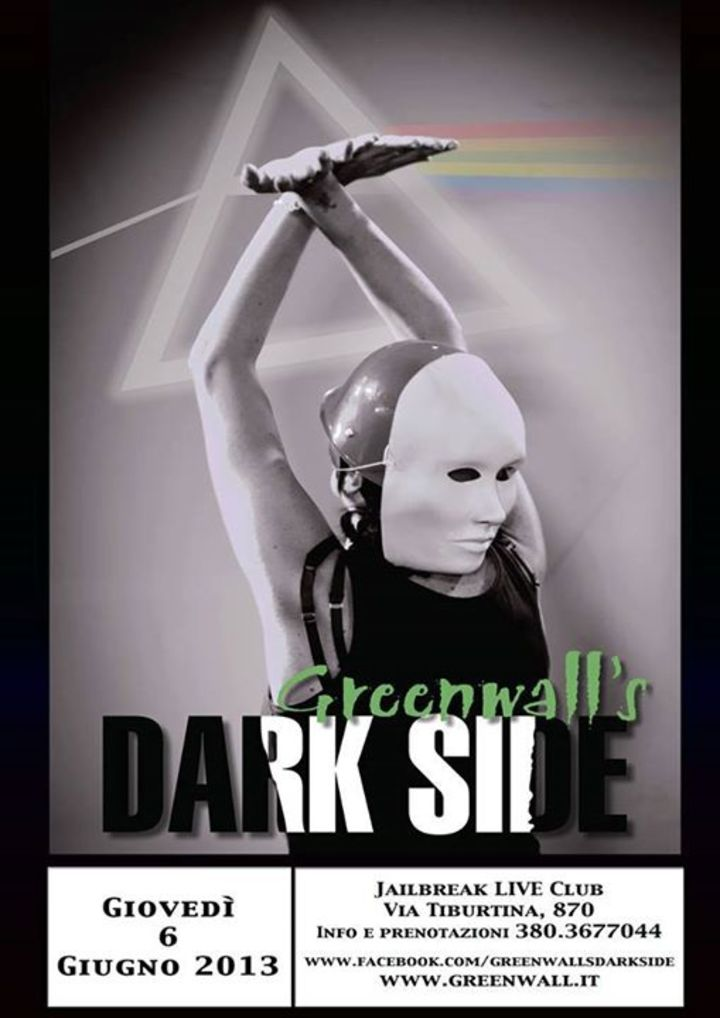 Greenwall's Dark Side Tour Dates