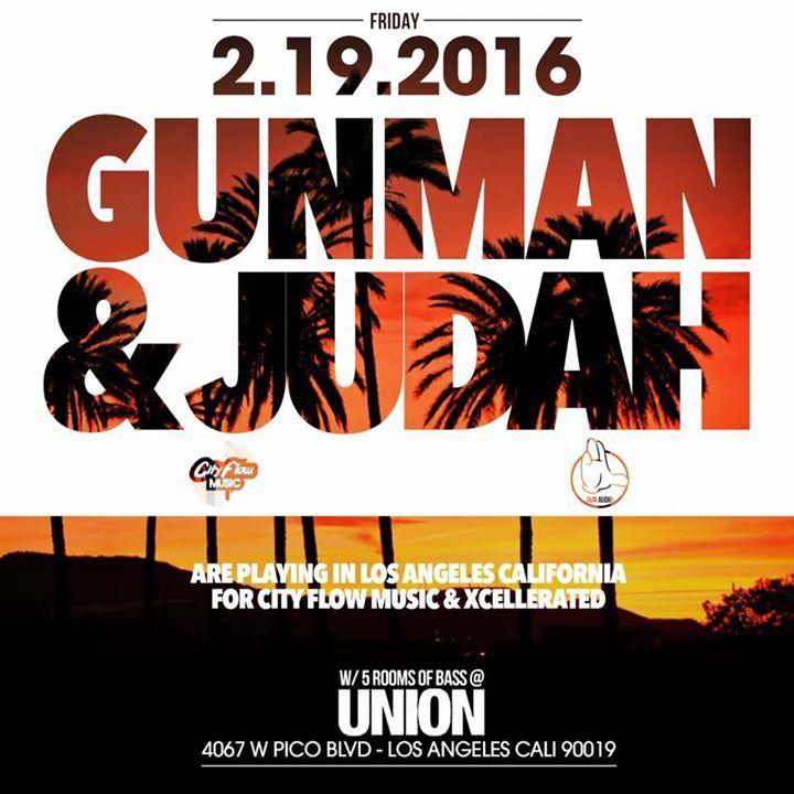 Gunman & Judah Tour Dates