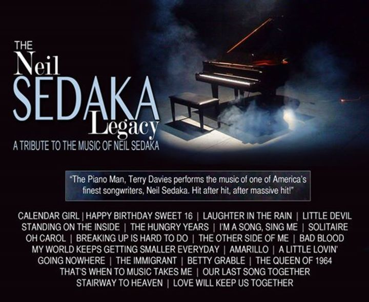 The Sedaka Legacy Tour Dates