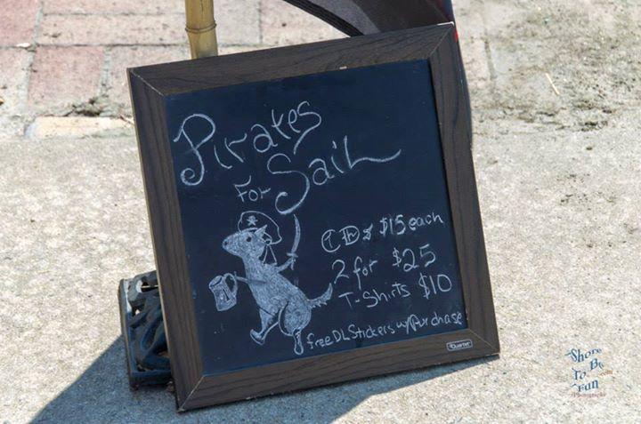 Pirates for Sail Tour Dates