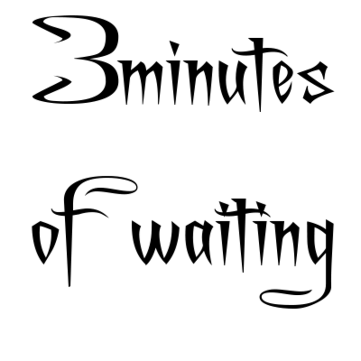 3minutes of waiting Tour Dates