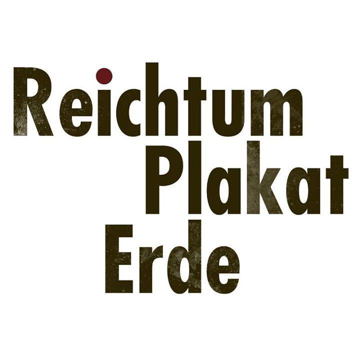 Reichtum Plakat Erde Tour Dates