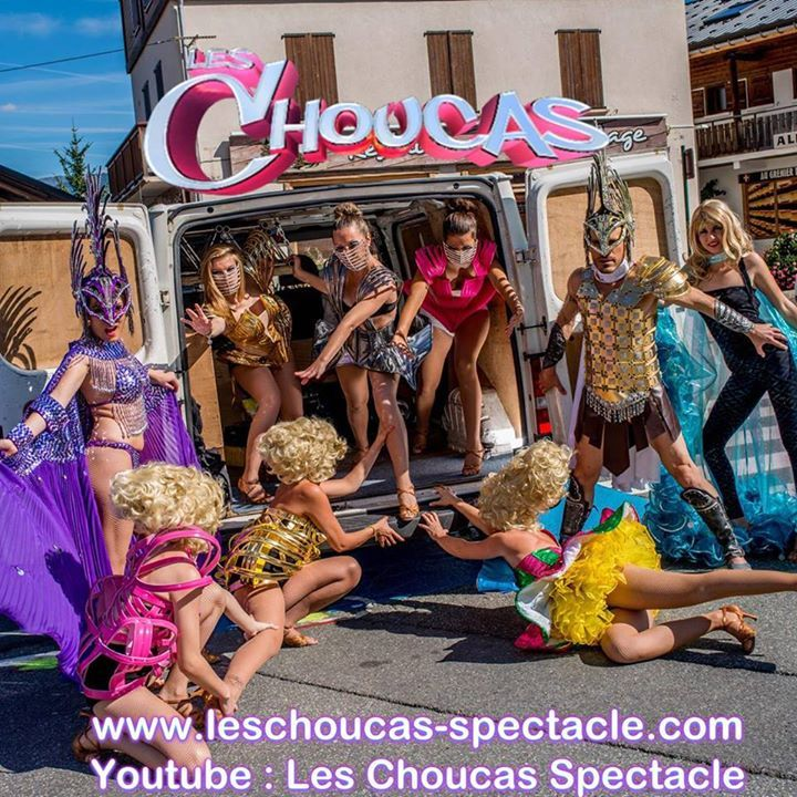 Les choucas, le groupe de vos soirées - PageOfficielle Tour Dates