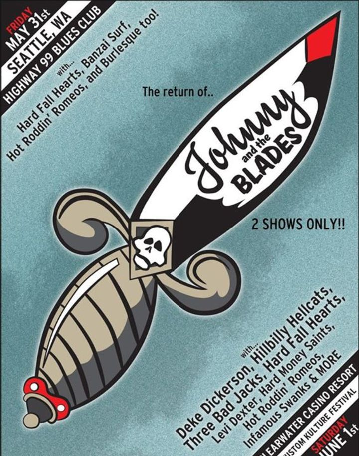 Johnny and the Blades Tour Dates